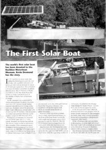 Solar Boat001-1