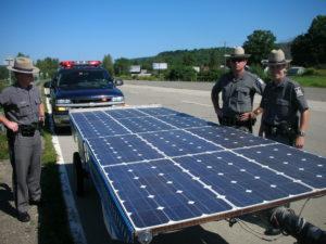 Solar Taxi Aventure solaire Raphael Domjan Eco-aventurier